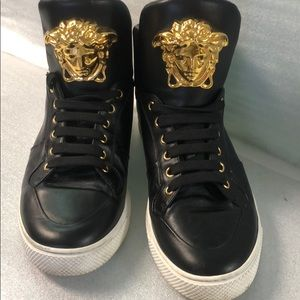Versace high tops Medusa